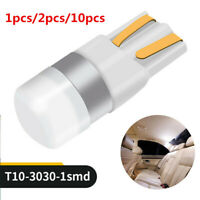 New Canbus T10 LED Bulb W5W 3030 SMD White Car Width Interior Reading Lamp 12V