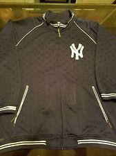 Men's NY Yankees Navy Mitchell & Ness Jacket Size 3XL