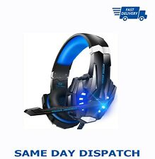 Gaming Headset with 3.5mm Bass Stereo Headphones for PS3/PS4/Xbox-KOTION G-9000