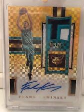 2017-18 Select Frank Kaminsky Patch Auto Gold 9/10