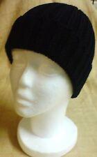 Mens Winter Warm Black Ski Hat Cap Beanie New