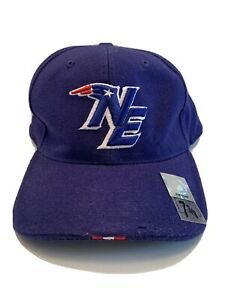 NFL New England Patriots Nike Football Bubble Letters Hat Size 7 3/8 Fitted