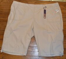 GLORIA VANDERBILT bermudas talla 24w Mujer Matilda Pantalones cortos MSRP