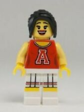 Lego Collectable Minifigure Series 8 - Red Cheerleader - Minfig Only