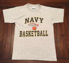 Navy Basketball Naval Academy Gift Shop Cotton Exchange Shirt Adult S Small