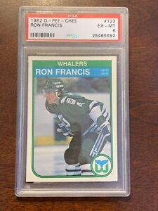 1982-83 OPC RON FRANCIS RC - PSA 6 EX-MT