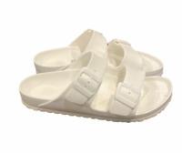 Birkenstock Women's Arizona EVA White Sandals Slides Size 40 US L9 M7