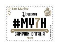 2018 San Marino Juventus Italian Champion 2017-2018