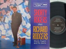 Shorty Rogers plays Richard Rodgers SPA Reissue LP EX RCA Jazz Cool