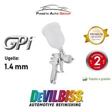 PISTOLA A SPRUZZO AEROGRAFO GPi DEVILBISS VERNICIATURA PROFESSIONALE CAP 1.4mm