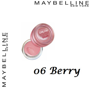 Maybelline Dream Touch Blush, Cream Blusher 06 Berry Blushers