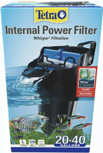 New In Box - Tetra Whisper In-Tank Internal Power Filter for 20-40 gallons