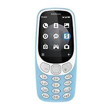 Nokia 3310 3G SIM-Free Feature Phone-Azure Blue