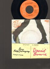 "DAVID BOWIE Boys Keep Swinging SINGLE 7"" Fantastic Voyage 1979 BRIAN ENO"