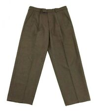 Austin Reed London Men's Dress Pants Size 33 x 30 Brown Plaids Pleated