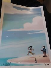 sdcc 2016 Penny Arcade Signed print New