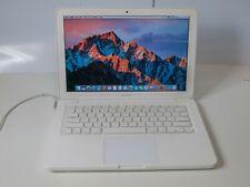 "Apple Macbook A1342 13"" Unibody - Core 2 Duo 2.26GHz 2GB 250GB HDD - No Optical!"