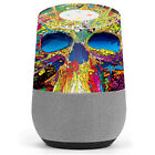 Skin Decal Vinyl Wrap for Google Home stickers skins cover/ colorful skull 1