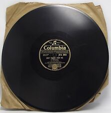 """JO STAFFORD : DON'T WORRY BOUT ME 78 rpm 10"""" Record"""