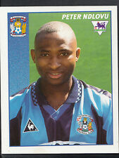 Merlin Football Sticker- 1997 Premier League - No 125 - Coventry - Peter Ndlovu