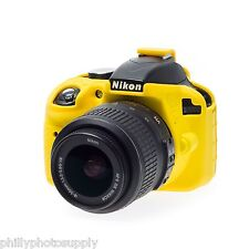 easyCover Armor Protective Skin for Nikon D3400 Yellow ->Free US Shipping!