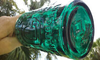 TUMBLED 1870'S ANTIQUE CONGRESS & EMPIRE MINERAL WATER BOTTLE!  WHITTLED!!!!
