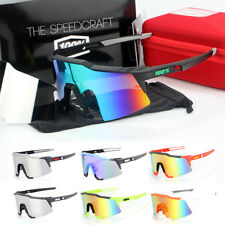 2PCS 100% Jawbreaker Sunglasses Speedtrap Cycling Windproof Bike Glasses New