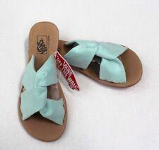 d830a4696807ce Vans Women s Ayla Suede Slide Sandals Size 5 Bay Light Green
