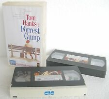 FORREST GUMP (1994) 2 VHS BOX SET ORIGINALE EDIZIONE 1995 CIC VIDEO PVS 70489