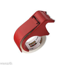 Scotch sealing Tape Hand Dispenser Package packing seal mail shipping box red