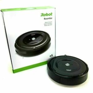 iRobot Roomba e5 Wi-Fi Connected Robot Vacuum - Charcoal