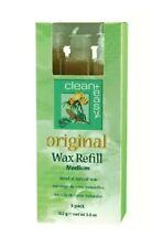 Clean+Easy Original Wax Refill Medium x 3 packs