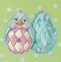 Mill Hill - Jim Shore - Aqua Chick - Beaded Cross Stitch Kit - JS18-1714