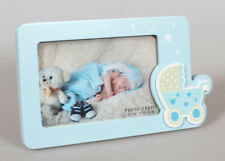 Baby on Tour Bilderrahmen in Blau 10x15 cm Baby Kinder Foto Rahmen