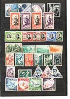 32 timbres de Monaco neufs **