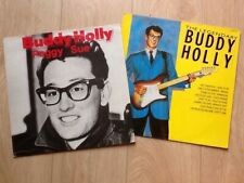 2 BUDDY HOLLY LPs . THE LEGENDARY BUDDY HOLLY & PEGGY SUE