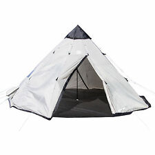 Tahoe Gear Bighorn XL 12-Person 18' x 18' Teepee Cone Shape Camping Tent