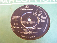 MARK WIRTZ ORCHESTRA / KEITH WEST Excerpt From Teenage Opera  Parlophone '67 7""