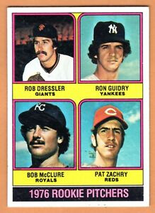 1976 Topps Ron Guidry Rookie Baseball Card #599 Yankees