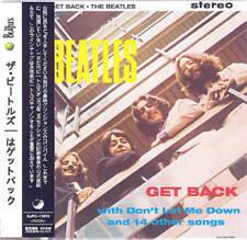 THE BEATLES - GET BACK ( MINI LP AUDIO CD with OBI )