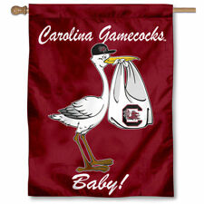 University of South Carolina New Baby Born Decorative House Flag