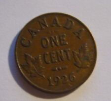 1926 Canada One Cent Coin      6 available