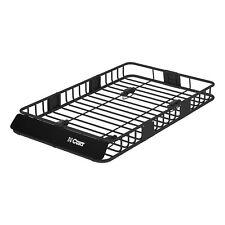 Universal Cargo Carrier Rack Cross Bars Car SUV Roof Top Basket Luggage Holder