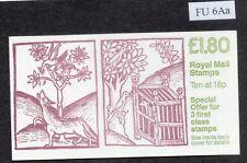 SG. FU6Aa. £1.80 Linnean Society, Wolf and Birds Left Margin Rare B1