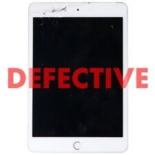 DEFECTIVE Apple iPad mini 4 Tablet (Wi-Fi Only) A1538 - 16GB/Silver (MK6K2LL/A)