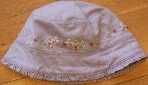 NEW Vintage 2002 GYMBOREE Flower Baby HAT Size NB Newborn 0-3 mo NWT