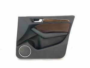 FRONT INNER DOOR PANEL AUDI Q5 SQ5 13-17 RH PASSENGER CHESTNUT BROWN LEATHER