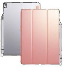 Poetic For iPad Pro 10.5 Case [Lumos X] Auto Wake/Sleep Smart Cover Rose Gold