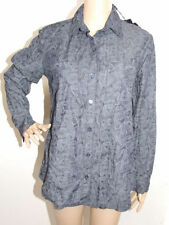 Career Button Down Shirt Hand-wash Only 100% Cotton Tops & Blouses for Women