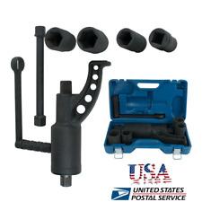 Torque Multiplier Set Wrench Lug Nut Lugnuts Remover Labor Saving Semi Socket US